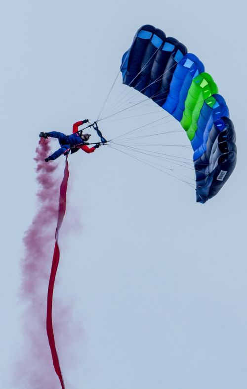 parachute jumping aviation