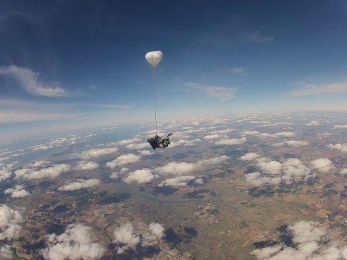 parachute jump baptism