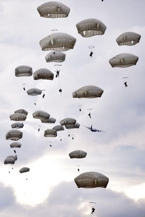 parachute training parachuting