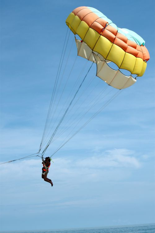 Parachute By The Sea
