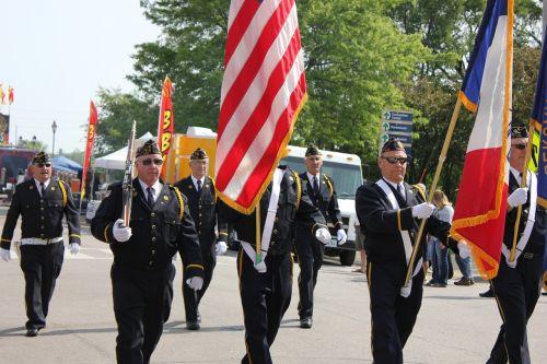 parade veterans american legion