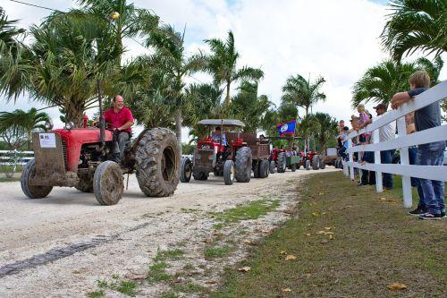 parade antique farm equipment tractors