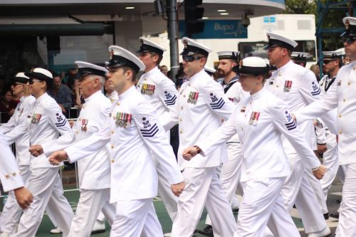 parade marching navy