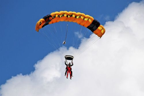 paraglider air sports bloated