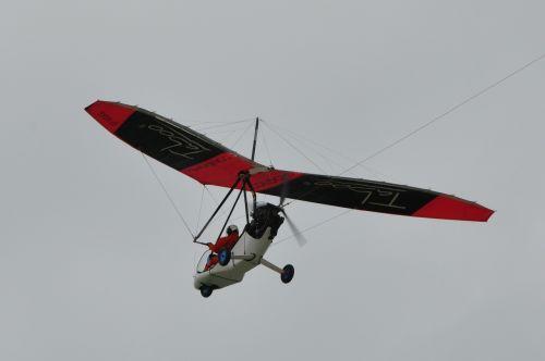 paraglider flight sky
