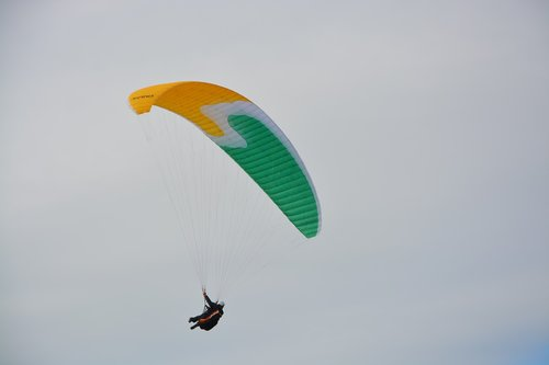 paragliders  sails  wings paragliding