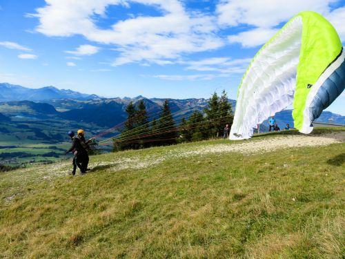 paragliding longing fly