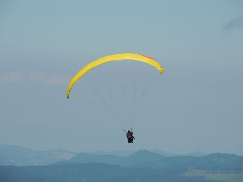 paragliding sport fly