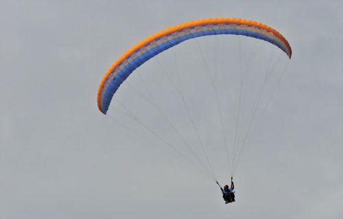paragliding paraglide parachute