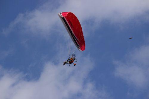 paragliding paraglider fly