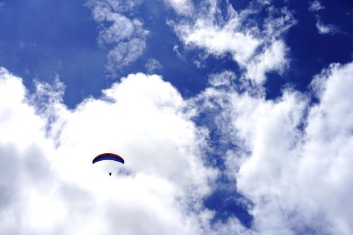 paragliding sky extreme game