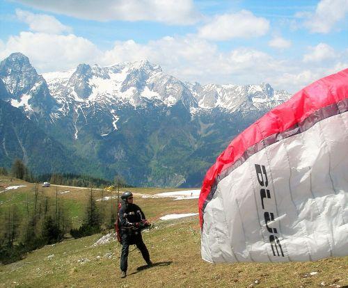 paragliding bergsport leisure