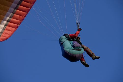paragliding fly paraglider