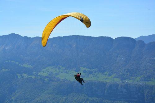 paragliding hautes alpes haute-savoie
