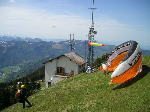 paragliding wind wind sock