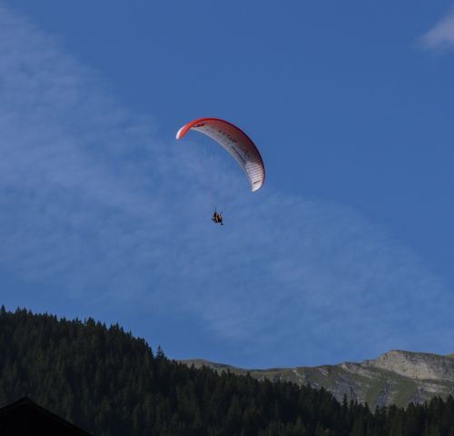 paragliding airy fly