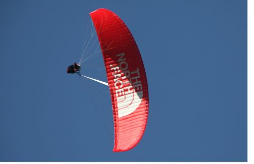 paragliding chamonix