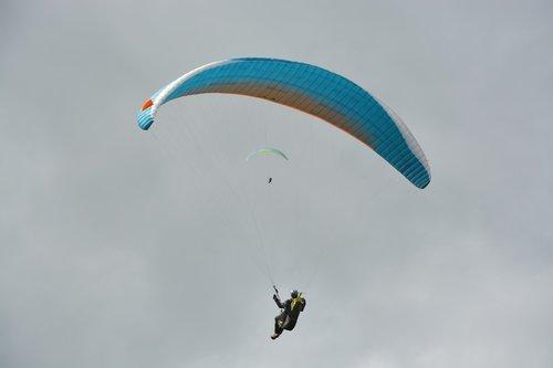 paragliding  free flight  wing paragliding