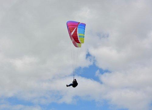 paragliding  free flight  leisure sports air