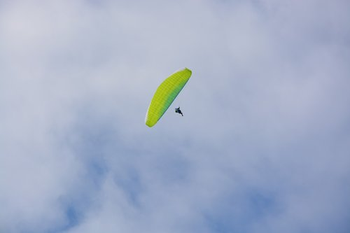 paragliding  view paragliding and sky  free flight