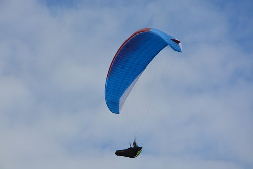 paragliding  paraglider  harness cocoon