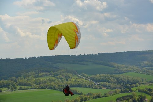 paragliding  leisure sports  free flight