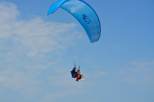 paragliding  paragliding bis place  duo