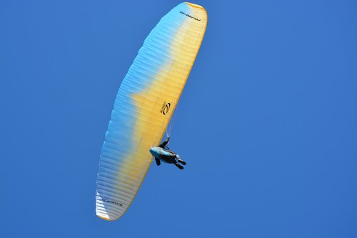 paragliding  paraglider  aircraft