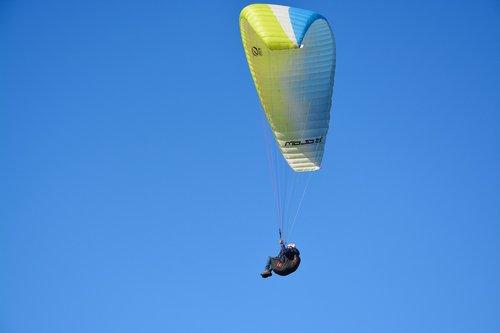 paragliding  paraglider  adventure