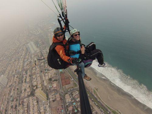 paragliding motivation fly