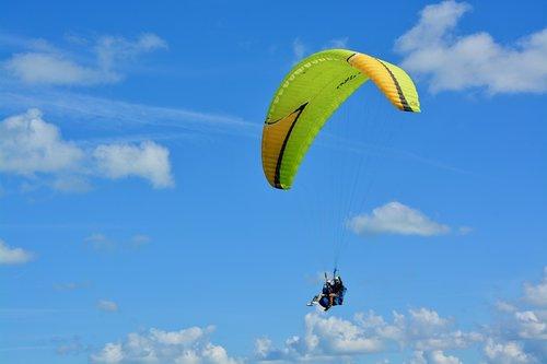 paragliding  paraglider  bi-place paraglider