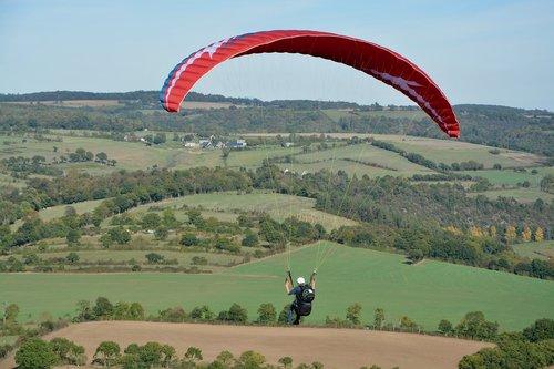 paragliding  paraglider  free flight