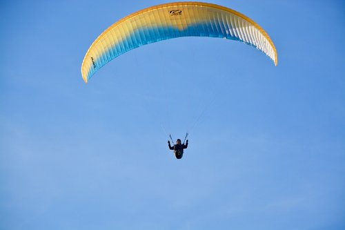 paragliding  paraglider  ozone wing rush5