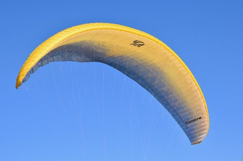 paragliding  sailing paragliding  wing paragliding
