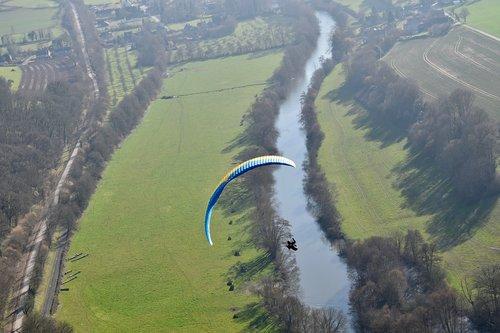 paragliding  paraglider  sailing paragliding