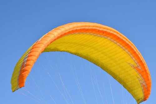 paragliding  sailing  wing