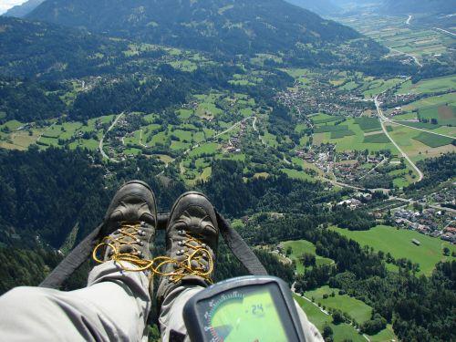 paragliding fly gps