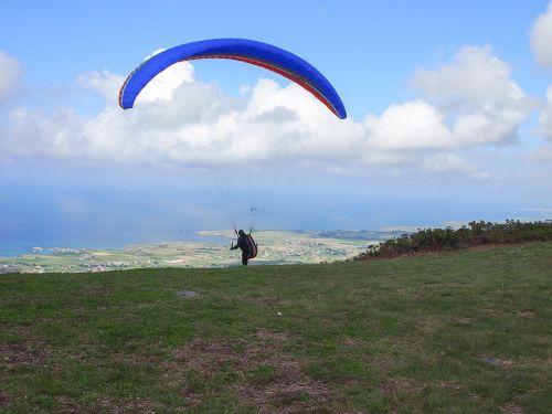 paragliding sport risk