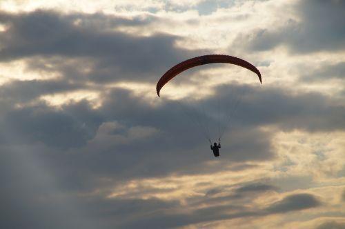 paragliding gleitschrimflieger paraglider