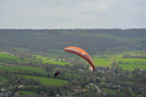 paragliding bis place  figure  accrobatie