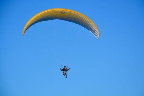 paragliding-paraglider  flight  free flight