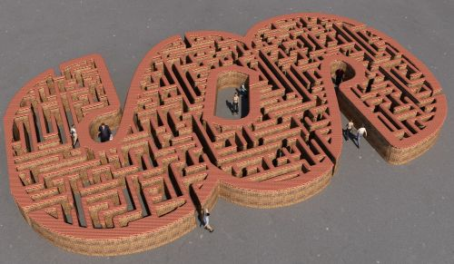 paragraph maze passers by
