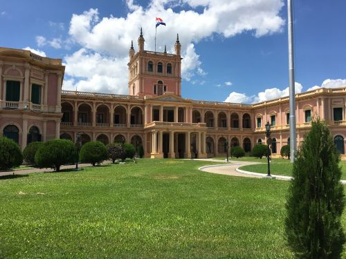 paraguay presidential palace palace