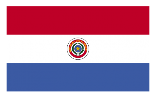 paraguay red blue