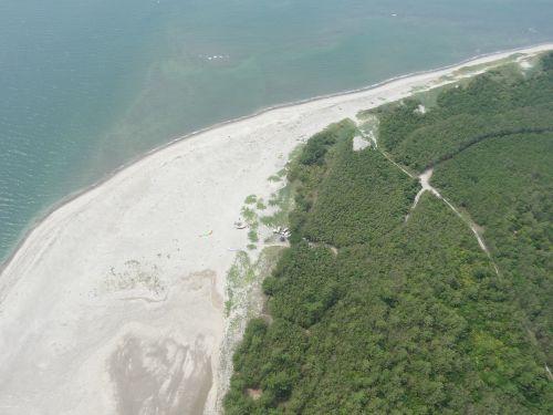 paramotor aerial fukiagehama seashore