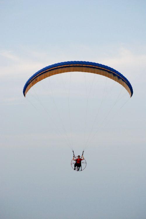 Paramotor Paraglider