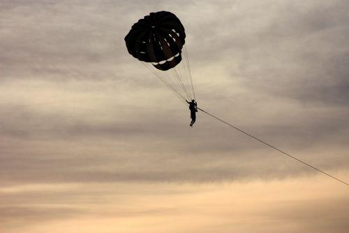 parasailing outdoor parachute