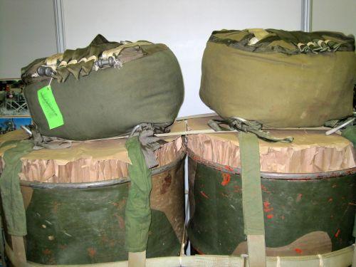 Parachutes Suitable To Drop Fuel Dr