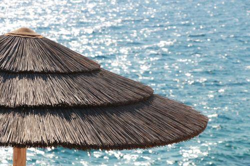 parasol summer sea