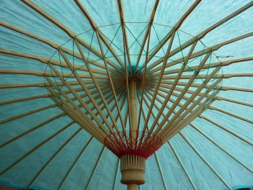 parasol screen turquoise